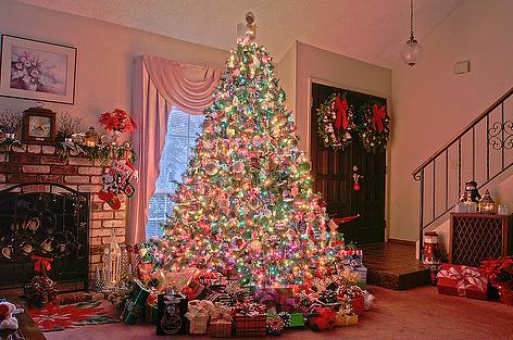 christmas tree hdr